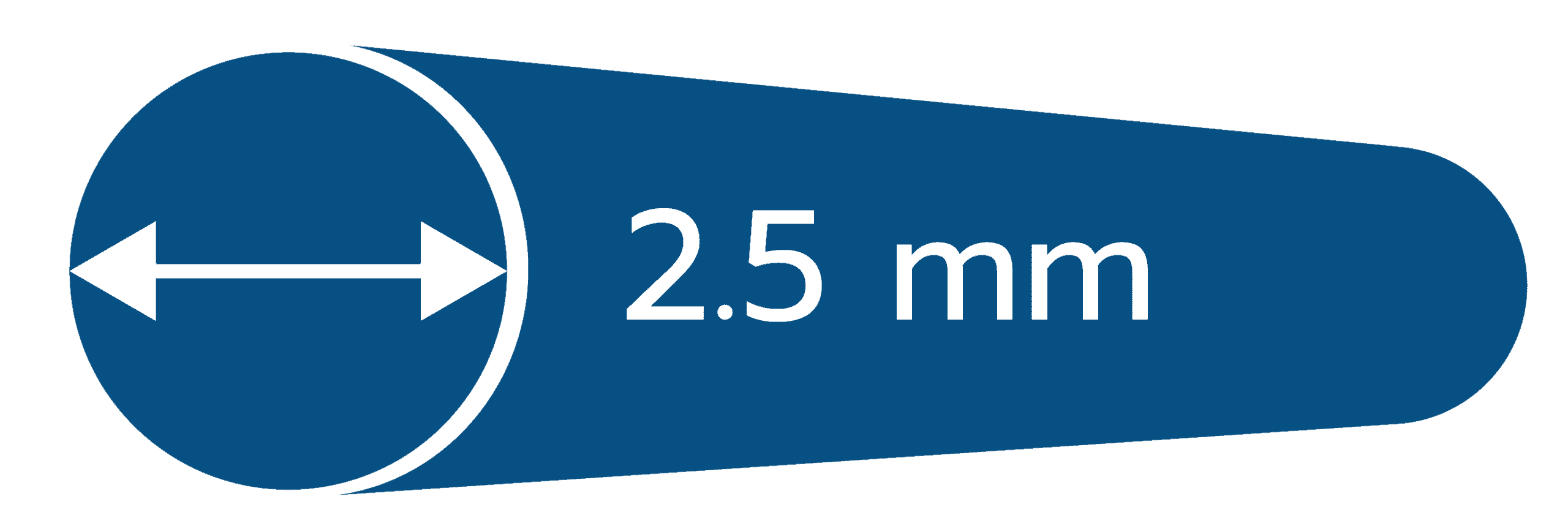 Icon ข้อดีรั้วตาข่ายฟิคซ์ล็อค เส้นลวดหนา 2.5 มม.