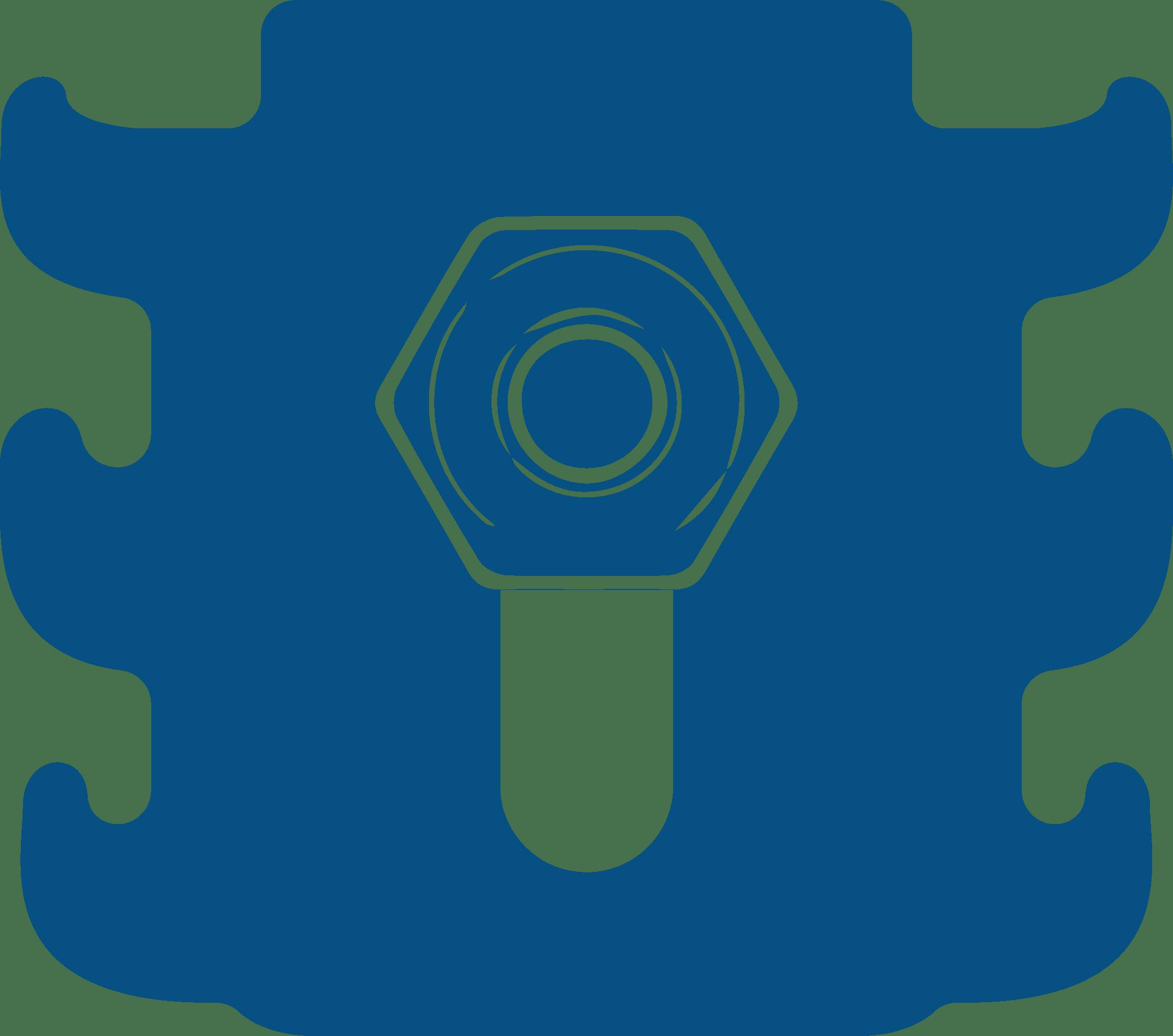 Icon ข้อดีรั้วตะแกรงเหล็กซิงค์อลู ใช้อุปกรณ์ยึดแบบพิเศษ