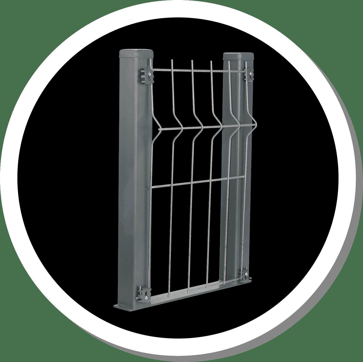 Icon รั้วตะแกรงเหล็กซิงค์อลู ไวน์แมน