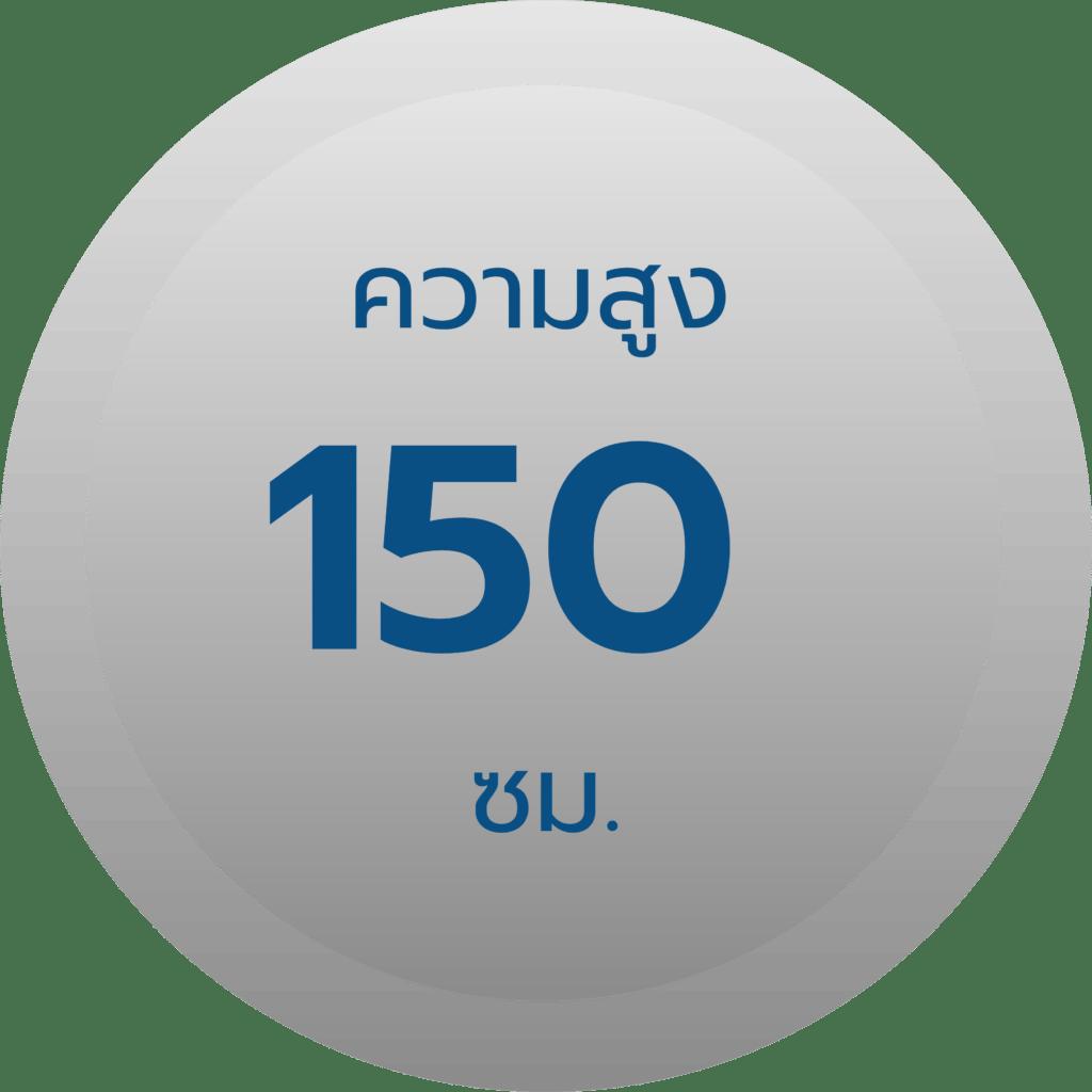 สเปค รั้วตาข่ายฟิคซ์ล็อค รุ่น 15-150-15 ความสูง 150 ซม.