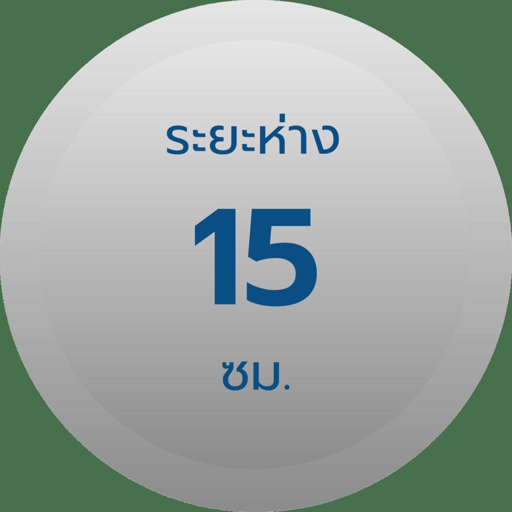 สเปค รั้วตาข่ายฟิคซ์ล็อค รุ่น 15-150-15 ช่องห่าง 15 ซม.