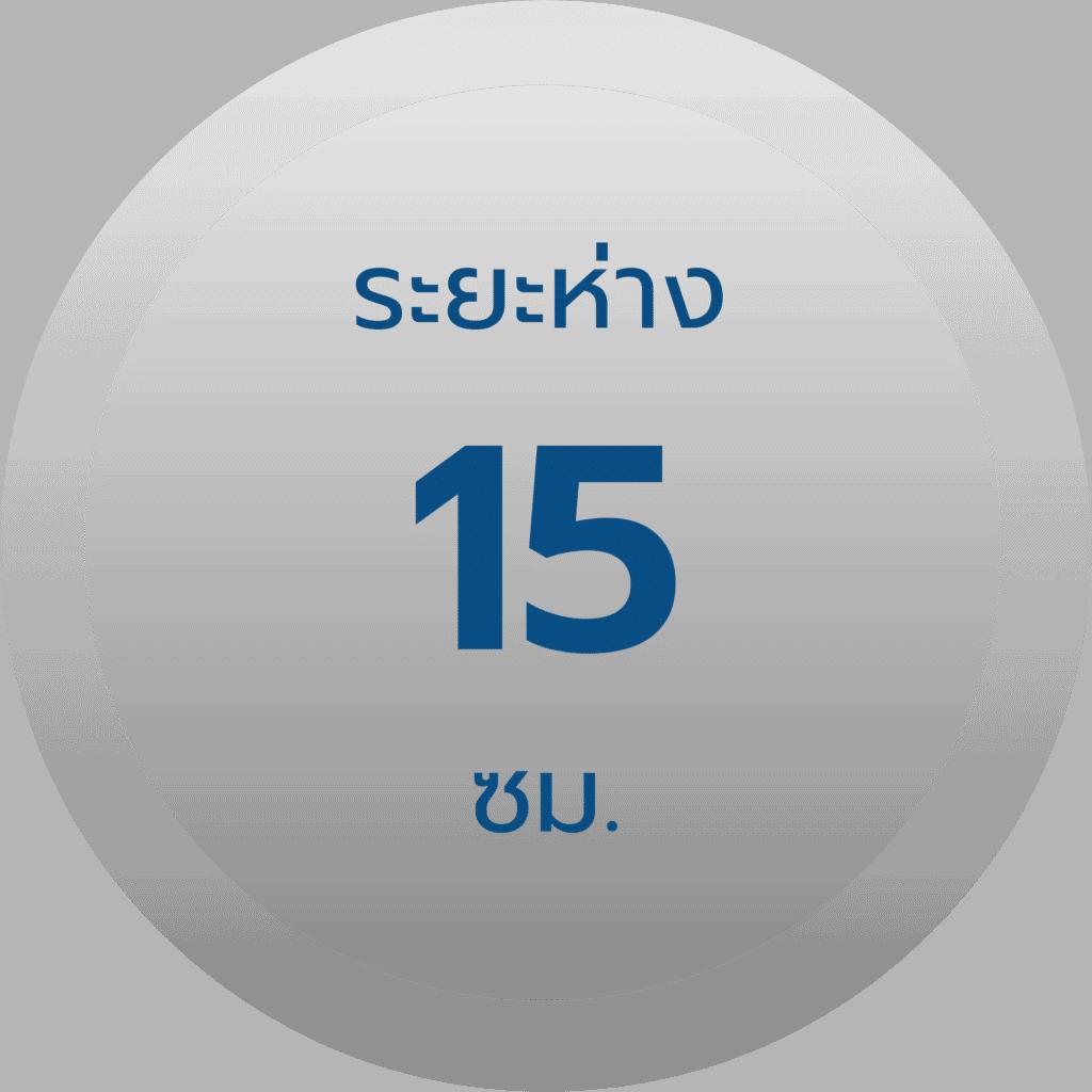 สเปค รั้วตาข่ายถักปม รุ่น 10-107-15 ช่องห่าง 15 ซม.