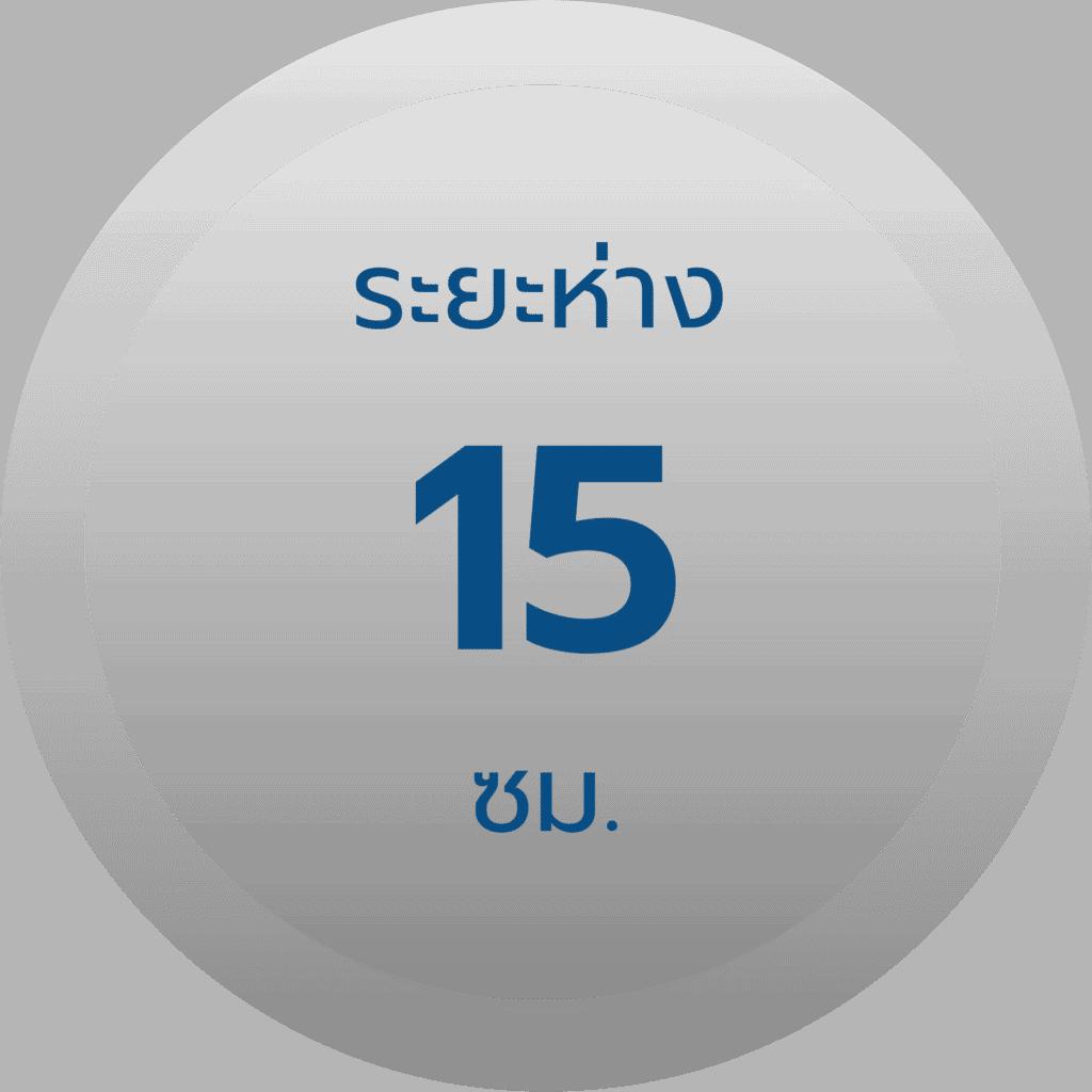 สเปค รั้วตาข่ายฟิคซ์ล็อค รุ่น 11-155-15 ช่องห่าง 15 ซม.